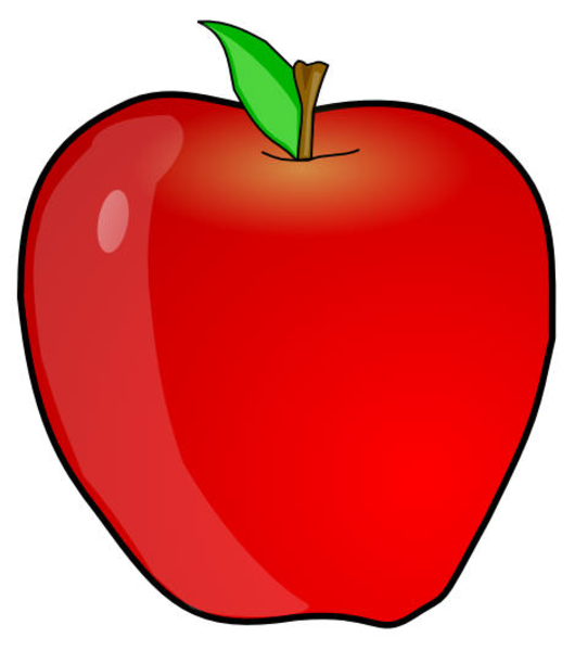 clipart picture of apple - photo #46