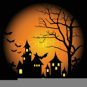 halloween haunted house clipart free images at clker com vector rh clker com Halloween Tree Clip Art Halloween Tree Clip Art
