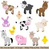 Farm Animal Clipart Image