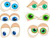 Cartoon Eyes Image