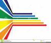 Coloured Arrows Clipart Image