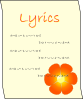 Lyrics Clip Art