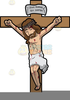 Jesus Carrying The Cross Clipart Image