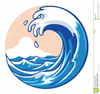 Free Clipart Of Ocean Wave Image