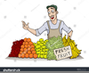 Fruit And Vegetable Clipart Image
