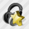 Icon Ear Phone Favorite Image