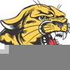Cougar Softball Clipart Image