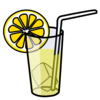 Nicubunu Lemonade Glass Image