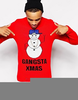Gangster Christmas Jumper Image