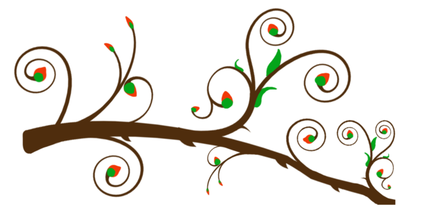 Blooming Branch Free Images At Clker Com Vector Clip