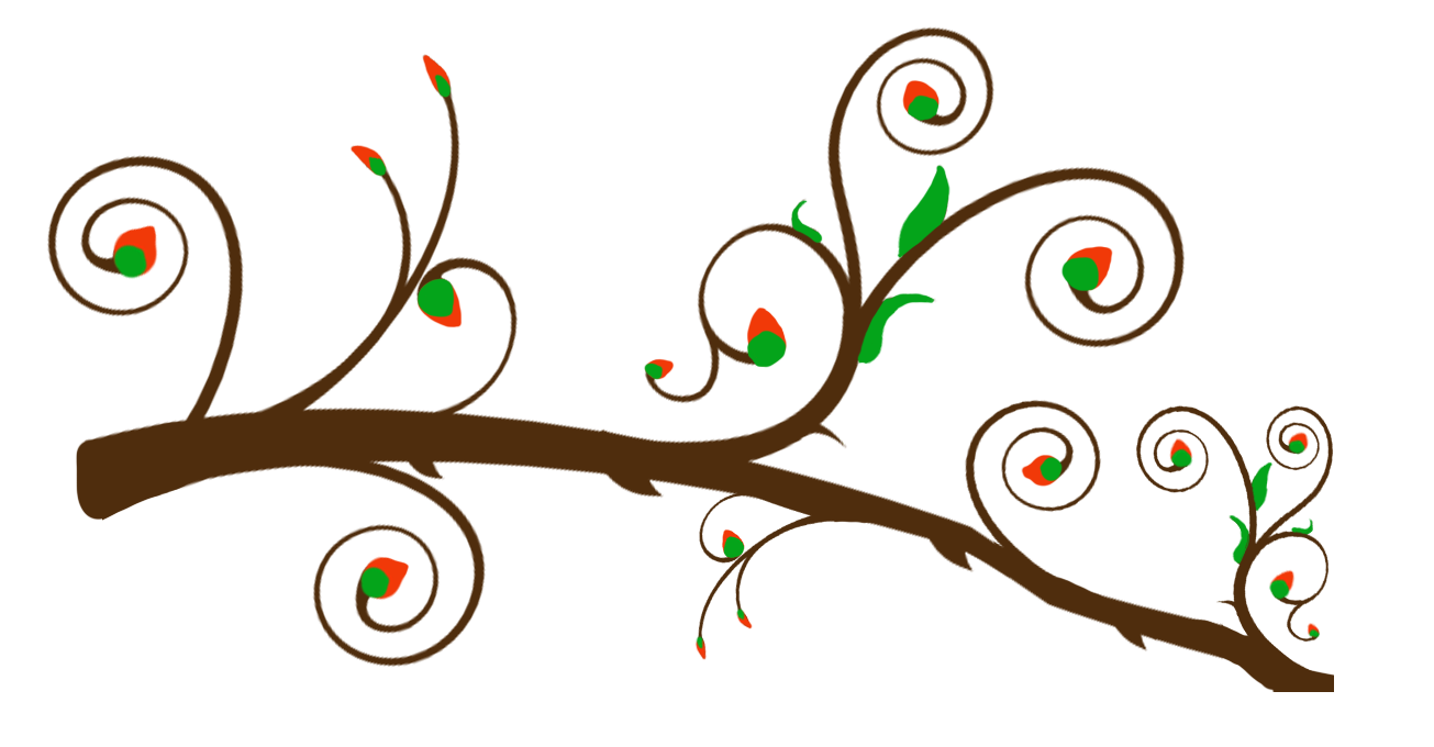 clipart tree with branches - photo #33