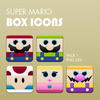 Super Mario Box Icons Pack 1 By Dannysp Image