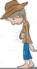 Animated Old People Clipart Image