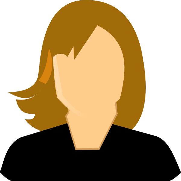 female professional clip art at clkercom vector clip