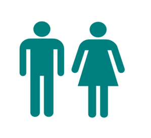 Blue Man And Woman Clip Art
