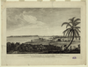 A View Of The City Of The Havana, Taken From The Road Near Colonel Howe S Battery Vue De La Ville De La Havane Prise Du Chemin Pres De La Batterie Du Colonel Howe = Vista De La Ciudad De La Havana Desde El Camino De La Bateria Del Coronel Howe / Drawn By Elias Durnford Engineer ; Etch D By Paul Sandby ; & Engraved By Edwd. Rooker. Image