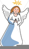 Clipart Of Mary And Angel Gabriel Image