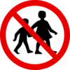 No Children Sign Clip Art
