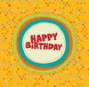 Colorful Birthday Card 1 Image