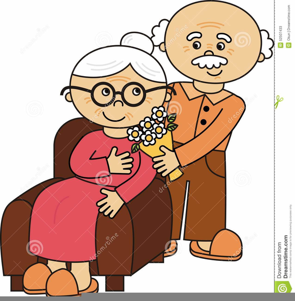 Funny Old Couple Clipart | Free Images at Clker.com ...