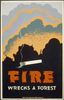Fire Wrecks A Forest Image
