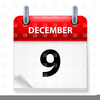 Month Of December Clipart Image
