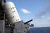 Five Hundred Rounds Are Shot From The Barrel Of A Close-in Weapon System (ciws) Mount Image