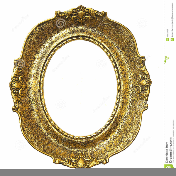 Oval Victorian Frame Clipart | Free Images at Clker.com - vector ...