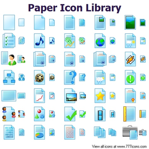 Paper Icon Library Image