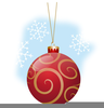 Clipart Christmas Ornaments Image