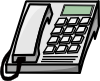 Office Phone Clip Art