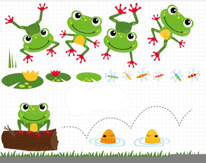 leaping frogs clipart free images at clker com vector clip art rh clker com Hopping Frog Clip Art Frog Prince Clip Art