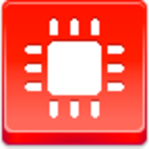 Free Red Button Icons Chip Image