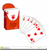 Deck Playing Cards Clipart Image