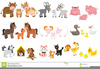 Free Animated Farm Animal Clipart Image