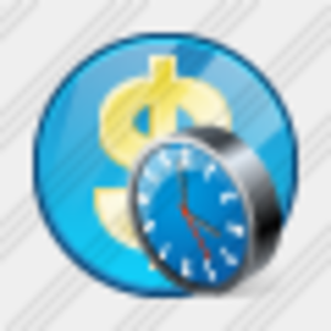 Icon Company Business Clock Image