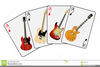 Playing Guitar Clipart Image