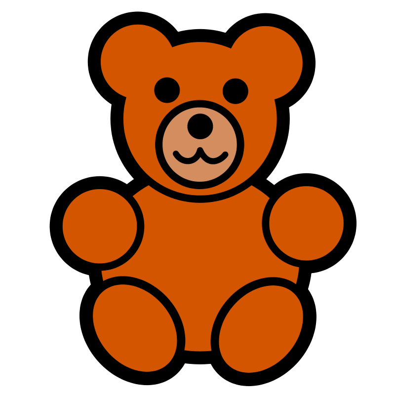 Pitr Teddy Bear Icon | Free Images at Clker.com - vector ...
