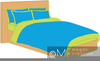 Boy Sleeping In Bed Clipart Image