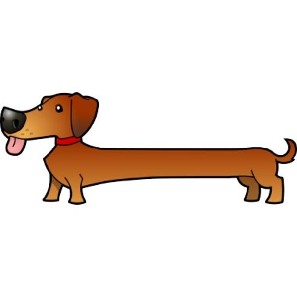 Free Wiener Dog Clipart