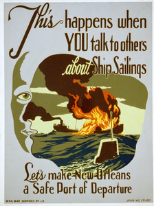 This Happens When You Talk To Others About Ship Sailings Let S Make New Orleans A Safe Port Of Departure / John Mccrady. Image
