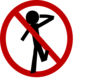 No Sobriety Test Clip Art