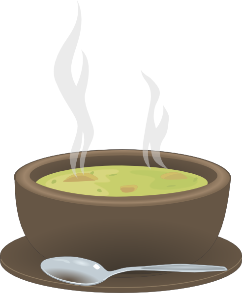 hot steaming bowl of soup clip art at clker com vector clip art rh clker com bowl of soup clipart free bowl of chicken soup clipart