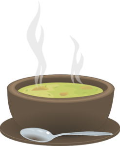hot steaming bowl of soup clip art at clker com vector clip art rh clker com Cup of Soup Clip Art soup bowl clipart