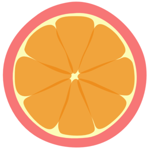 Brighter Final And Best Pink Tangerine Clip Art