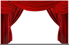 Free Clipart Curtains Image
