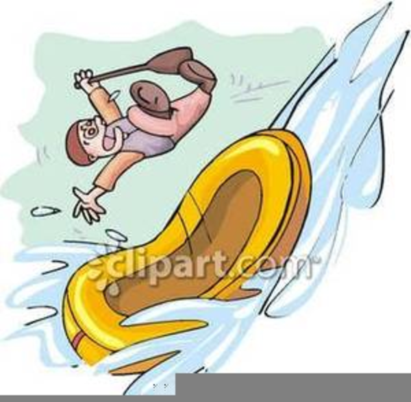Free Whitewater Rafting Clipart