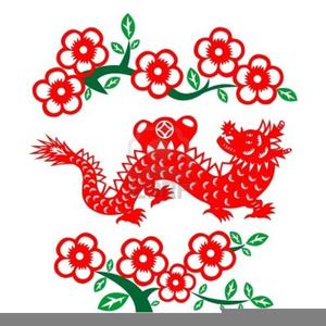 chinese new year dragon clipart image