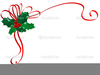 Christmas Holly Clipart Image
