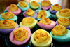 Dyed Deviled Eggs Image